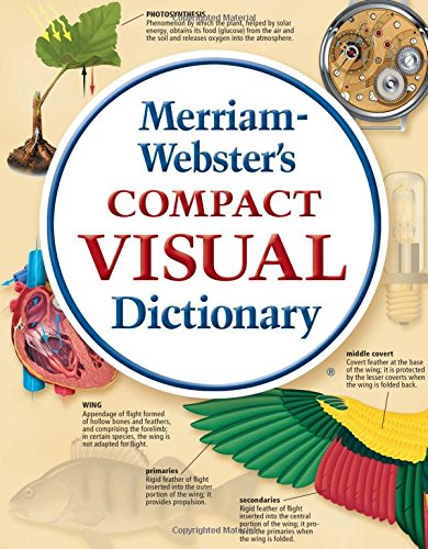9780877792901: Merriam-Webster's Compact Visual Dictionary (flexible)