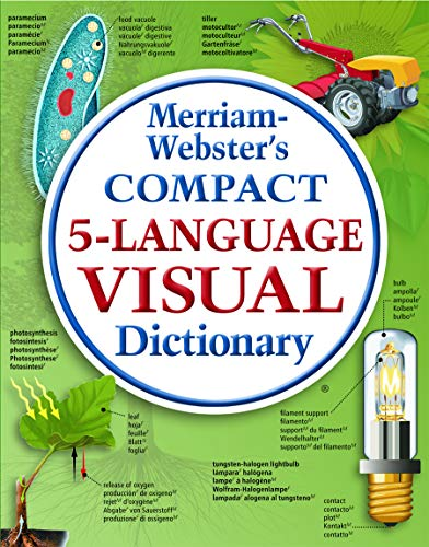 9780877792918: Merriam-Webster's Compact 5-Language Visual Dictionary