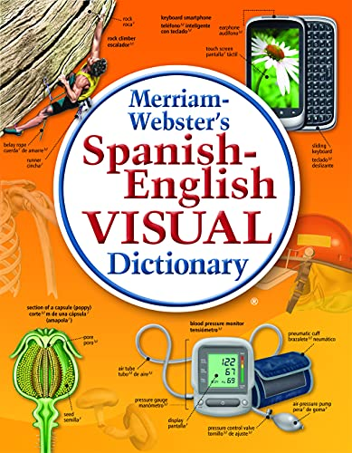 9780877792925: Merriam-Webster's Spanish-English Visual Dictionary, Newest edition, flexi paperback (English and Spanish Edition)
