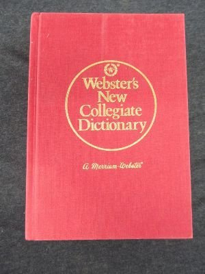 9780877793298: Webster's New Collegiate Dictionary