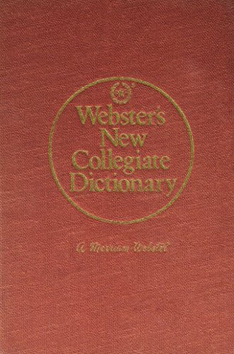 9780877793489: Webster's new collegiate dictionary