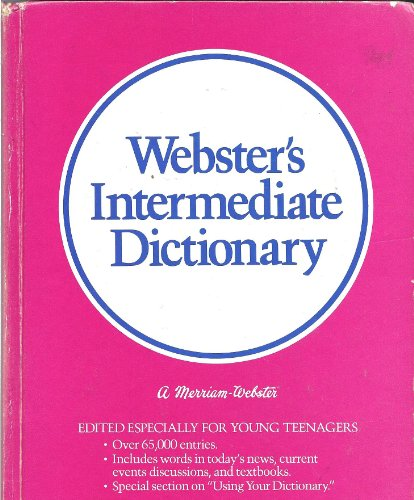 9780877793793: Webster's Intermediate Dictionary