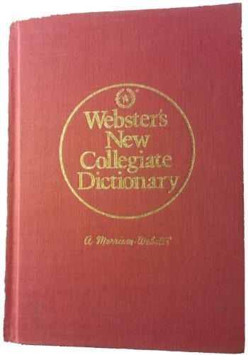 9780877793991: Webster's New Collegiate Dictionary
