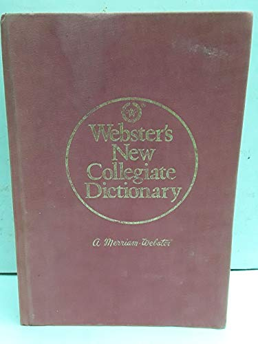 Webster's New Collegiate Dictionary, 150th Anniversary edition