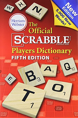 9780877794219: The Official Scrabble Players Dictionary, New 5th Edition, (Jacketed hardcover) 2014 copyright