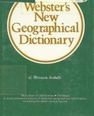9780877794462: Webster's New Geographical Dictionary