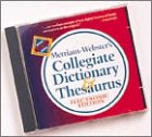 9780877794639: Merriam-Webster's Collegiate Dictionary Thesaurus: Electronic Edition, Version 1.5
