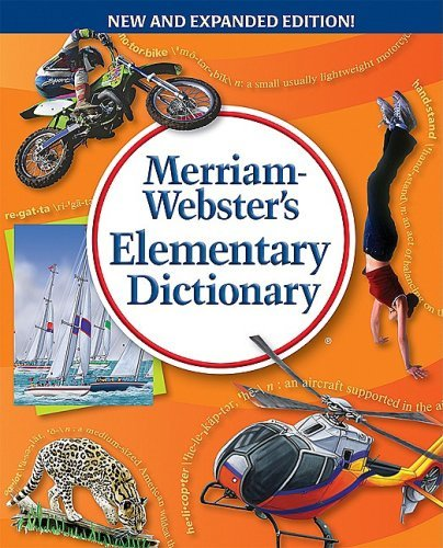 9780877794752: Webster's Elementary Dictionary