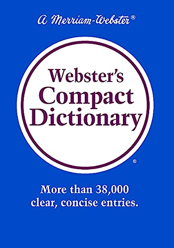 9780877794882: Webster's Compact Dictionary