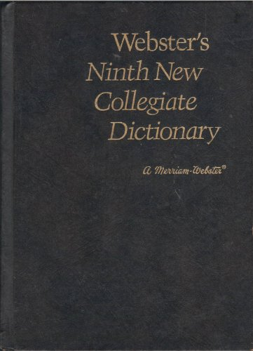 9780877795100: Webster's Ninth New Collegiate Dictionary: Brown-Leather-Like/Stock #10