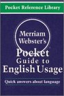 Merriam-Webster's Pocket Guide to English Usage - Merriam-Webster
