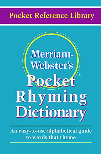 9780877795162: Merriam Webster's Pocket Rhyming Dictionary (Pocket Reference Library)