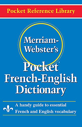 Merriam Webster Pocket French-English Dictionary (Paperback): Merriam-Webster
