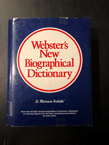 9780877795438: Webster's New Biographical Dictionary