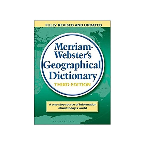 9780877795469: Merriam-Webster's Geographical Dictionary