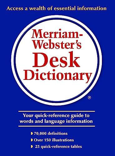9780877795490: Merriam-Webster's Desk Dictionary