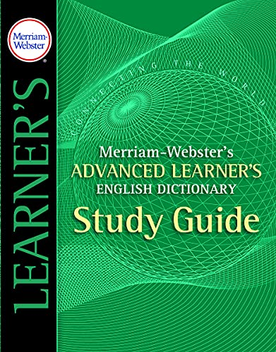9780877795520: Merriam-Webster's Advanced Learner's English Dictionary Study Guide
