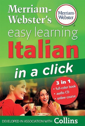9780877795612: Merriam-Webster's Easy Learning Italian in a Click [With CD (Audio)] (Italian Edition)