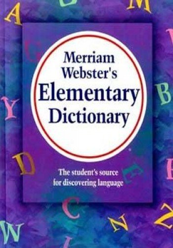 9780877795759: Merriam Webster 75 Merriam-webster's elementary dictionary, laminated hardcover edition