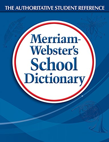 9780877795803: Merriam-Webster's School Dictionary