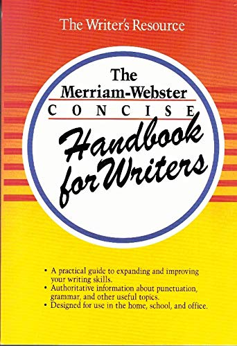 9780877796022: The Merriam-Webster Concise Handbook for Writers