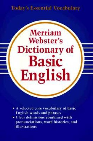 9780877796053: Merriam-Webster's Dictionary of Basic English