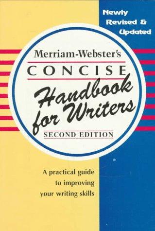 Merriam-Webster's Concise Handbook for Writers: Merriam-Webster