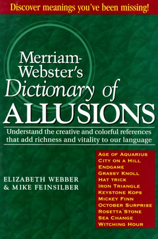 9780877796282: Merriam-Webster's Dictionary of Allusions