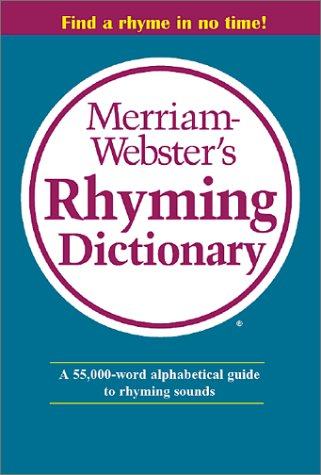 9780877796329: Merriam Webster's Rhyming Dictionary