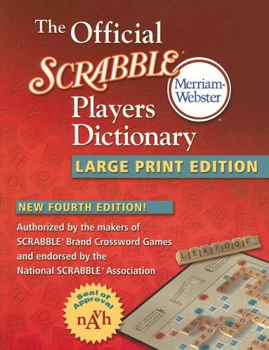 9780877796343: The official scrabble players dictionary