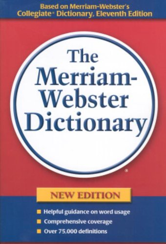9780877796367: The Merriam-webster Dictionary