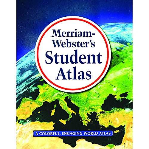 9780877796381: Merriam-Webster's Student Atlas, New Copyright 2016