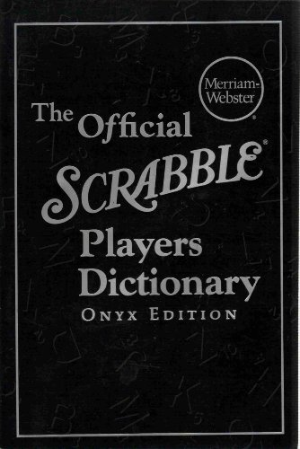 9780877796459: The Official Scrabble Players Dictionary, Onyx Edition