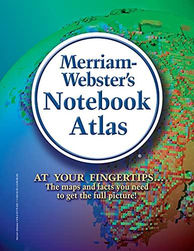 9780877796527: Merriam-Webster's Notebook Atlas