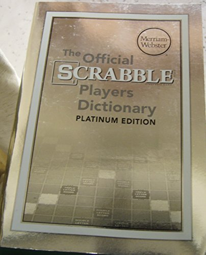 9780877796664: The Official Scrabble Players Dictionary (5th Edition -2014) Platinum Edition