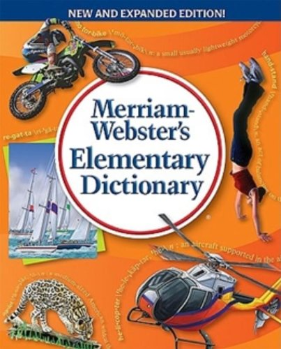 9780877796756: Merriam-Webster's Elementary Dictionary