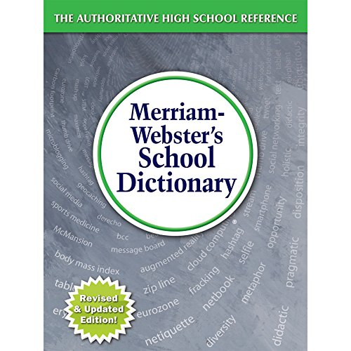 9780877796800: Merriam-Webster's School Dictionary, Newly Revised & Updated! (c) 2015