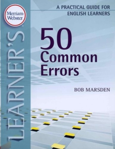 9780877796817: 50 Common Errors: A Practical Guide for English Learners (Practical Guides for English Learners)