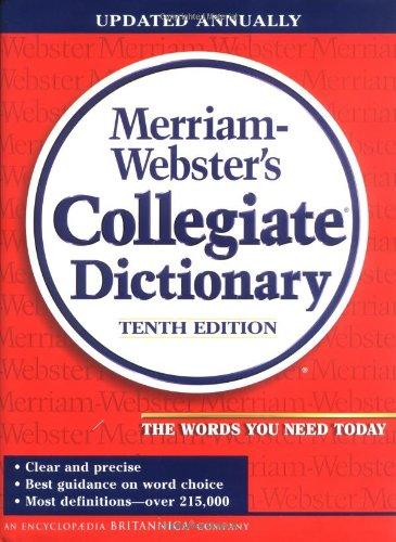 9780877797098: Merriam-Webster Collegiate Dictionary