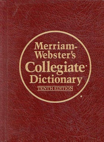 9780877797104: Merriam Webster's Collegiate Dictionary/Deluxe Leatherette/Indexed