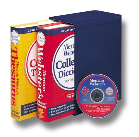 9780877797159: Merriam-Webster's Collegiate Reference Set