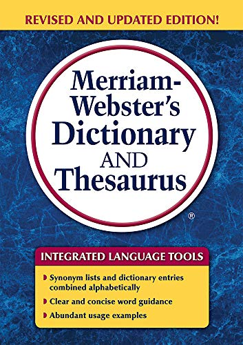 9780877797326: Merriam-Webster's Dictionary and Thesaurus