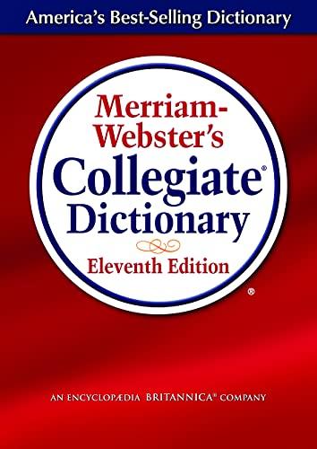 9780877798071: 11th Collegiate Dictionary (Merriam-Webster's Collegiate Dictionary (Laminated))