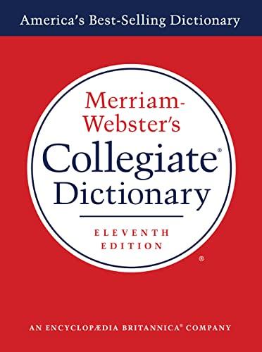 9780877798071: Merriam-Webster's Collegiate Dictionary (Laminated Cover)