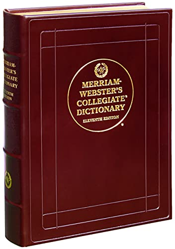 9780877798118: Merriam-webster Collegiate Dictionary: Luxury Leather Bound