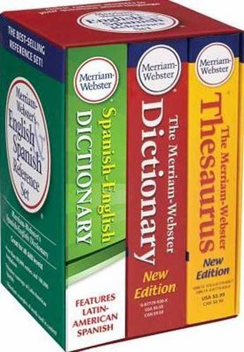 9780877798200: Merriam-Webster's English & Spanish Reference Set