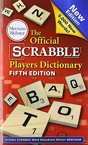9780877798224: The Official Scrabble Players Dictionary, New 5th Edition (mass market, paperback) 2014 copyright