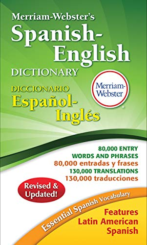 9780877798248: Merriam-Webster's Spanish-English Dictionary, New Copyright 2016 (Spanish Edition) (English and Spanish Edition)
