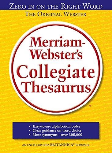 9780877798262: Merriam-Webster's Collegiate Thesaures