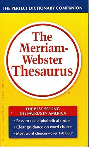 9780877798507: The Merriam-Webster Thesaurus
